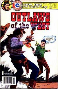 Cover Thumbnail for Outlaws of the West (Charlton, 1979 series) #85