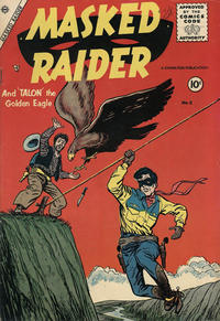 Cover Thumbnail for Masked Raider (Charlton, 1955 series) #2