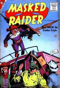 Cover Thumbnail for Masked Raider (Charlton, 1955 series) #3