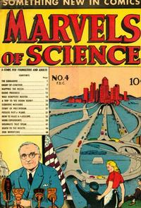 Cover Thumbnail for Marvels of Science (Charlton, 1946 series) #4