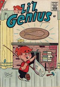 Cover Thumbnail for Li'l Genius (Charlton, 1954 series) #13