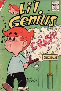 Cover Thumbnail for Li'l Genius (Charlton, 1954 series) #15