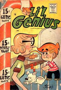 Cover Thumbnail for Li'l Genius (Charlton, 1954 series) #17