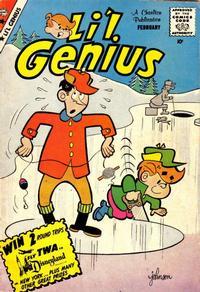 Cover Thumbnail for Li'l Genius (Charlton, 1954 series) #25