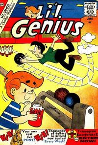 Cover Thumbnail for Li'l Genius (Charlton, 1954 series) #27