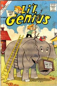 Cover Thumbnail for Li'l Genius (Charlton, 1954 series) #40