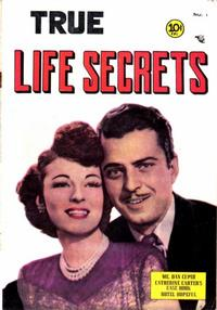 Cover Thumbnail for True Life Secrets (Charlton, 1951 series) #1
