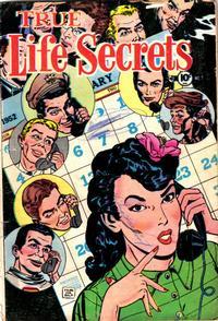Cover Thumbnail for True Life Secrets (Charlton, 1951 series) #7