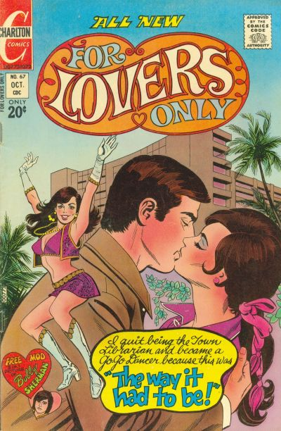 Cover for For Lovers Only (Charlton, 1971 series) #67