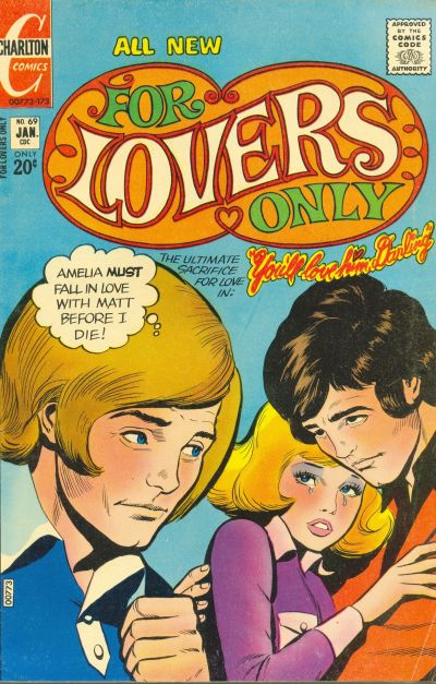 Cover for For Lovers Only (Charlton, 1971 series) #69