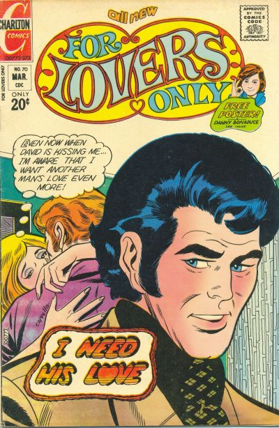 Cover for For Lovers Only (Charlton, 1971 series) #70