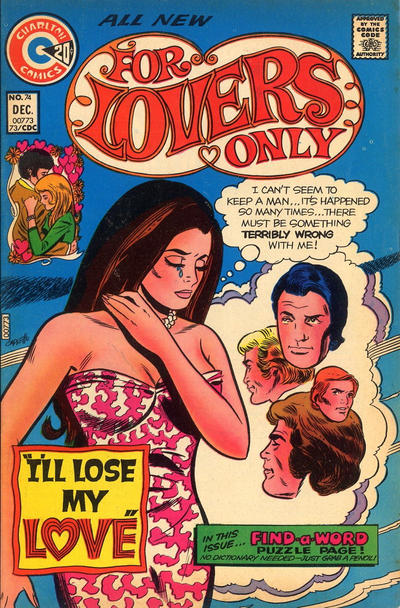 Cover for For Lovers Only (Charlton, 1971 series) #74