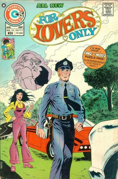 Cover for For Lovers Only (Charlton, 1971 series) #76