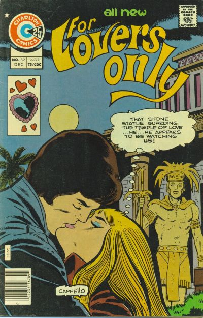 Cover for For Lovers Only (Charlton, 1971 series) #82