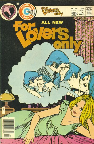 Cover for For Lovers Only (Charlton, 1971 series) #86