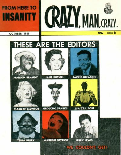 Cover for From Here to Insanity (Charlton, 1955 series) #12