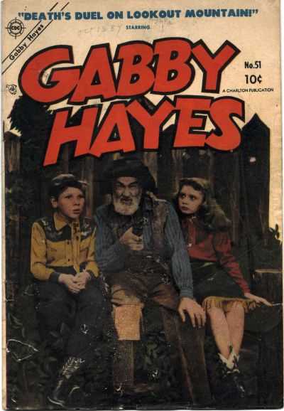 Cover for Gabby Hayes (Charlton, 1954 series) #51