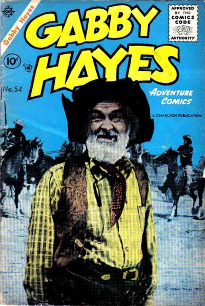 Cover for Gabby Hayes (Charlton, 1954 series) #54