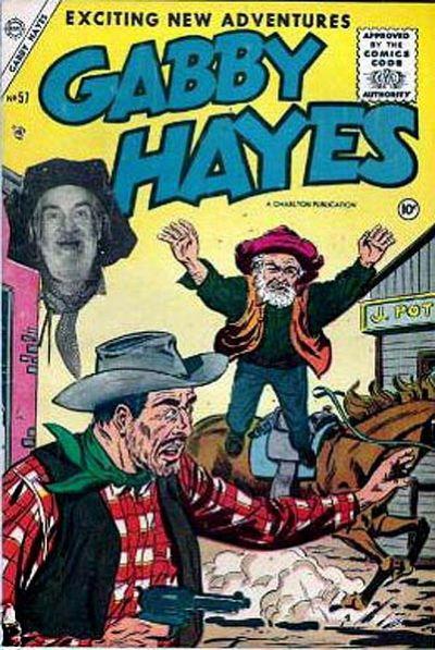 Cover for Gabby Hayes (Charlton, 1954 series) #57