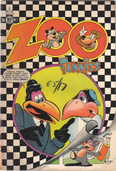 Cover for Zoo Funnies (Charlton, 1953 series) #1