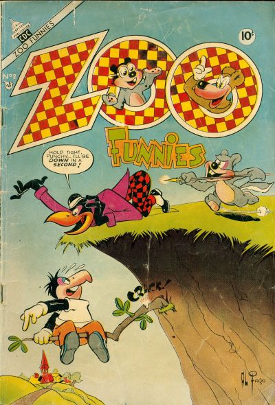 Cover for Zoo Funnies (Charlton, 1953 series) #2
