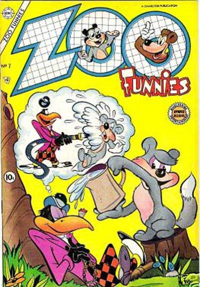 Cover for Zoo Funnies (Charlton, 1953 series) #7