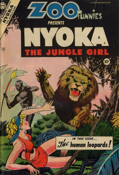 Cover for Zoo Funnies (Charlton, 1953 series) #8