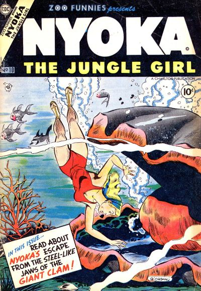 Cover for Zoo Funnies (Charlton, 1953 series) #10