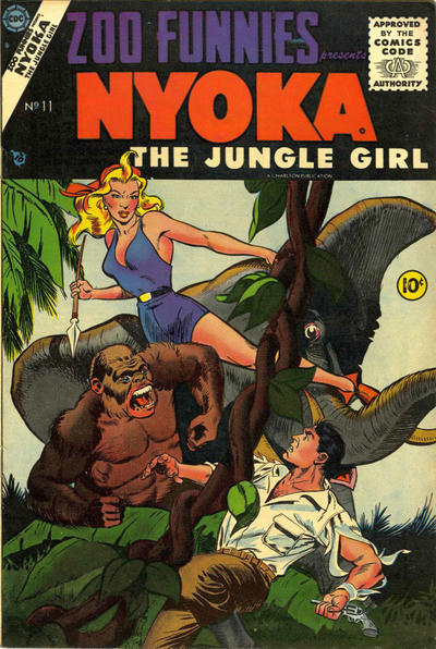 Cover for Zoo Funnies (Charlton, 1953 series) #11