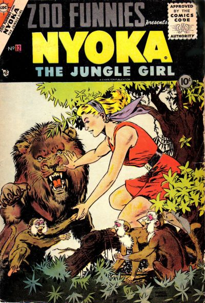Cover for Zoo Funnies (Charlton, 1953 series) #12