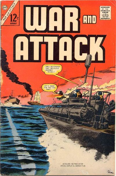 Cover for War and Attack (Charlton, 1966 series) #61