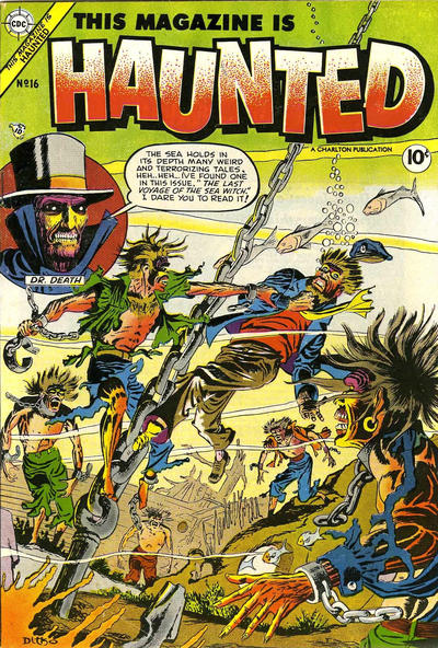 Cover for This Magazine Is Haunted (Charlton, 1954 series) #16