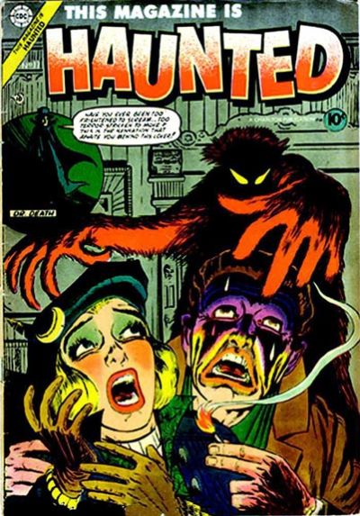 Cover for This Magazine Is Haunted (Charlton, 1954 series) #17