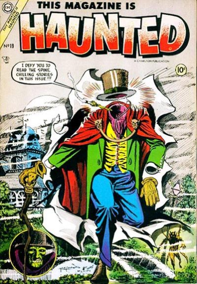 Cover for This Magazine Is Haunted (Charlton, 1954 series) #19