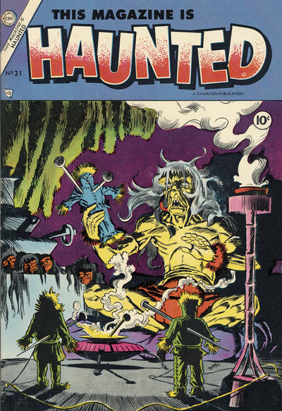 Cover for This Magazine Is Haunted (Charlton, 1954 series) #21