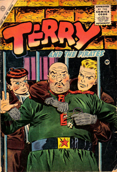 Cover for Terry and the Pirates (Charlton, 1955 series) #27