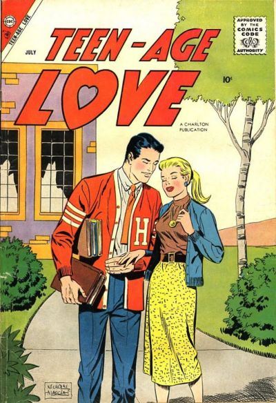 Cover for Teen-Age Love (Charlton, 1958 series) #4