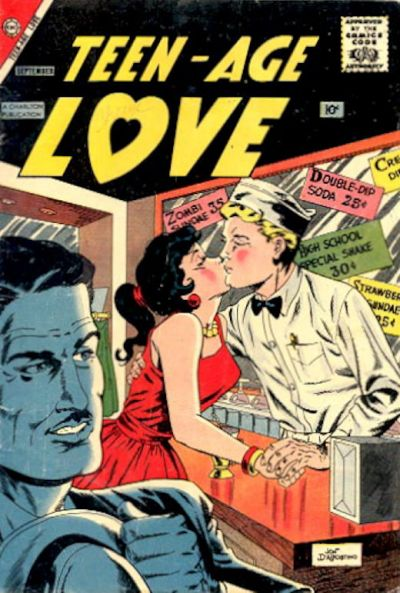 Cover for Teen-Age Love (Charlton, 1958 series) #5