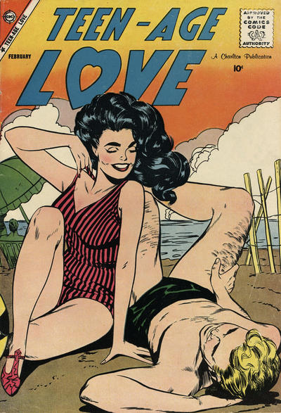 Cover for Teen-Age Love (Charlton, 1958 series) #7