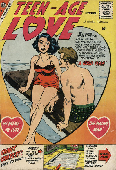 Cover for Teen-Age Love (Charlton, 1958 series) #10