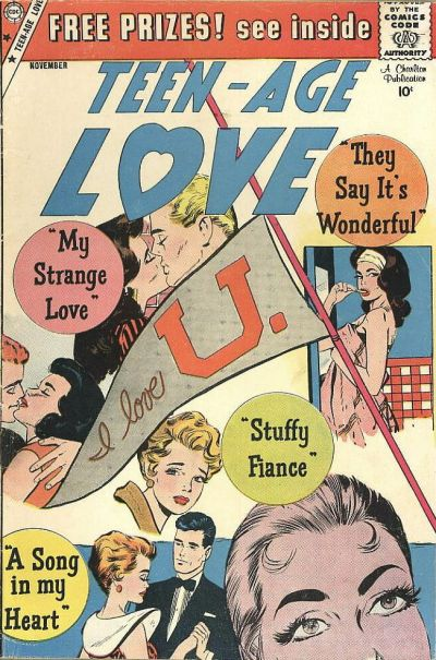 Cover for Teen-Age Love (Charlton, 1958 series) #11