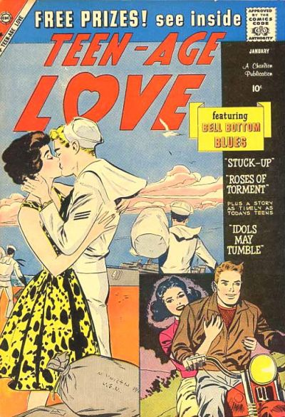Cover for Teen-Age Love (Charlton, 1958 series) #12