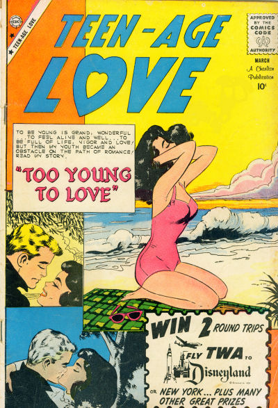 Cover for Teen-Age Love (Charlton, 1958 series) #13