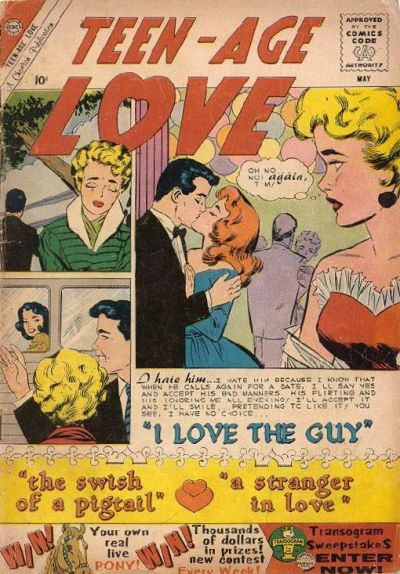 Cover for Teen-Age Love (Charlton, 1958 series) #14