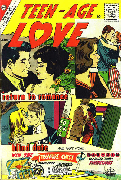 Cover for Teen-Age Love (Charlton, 1958 series) #18
