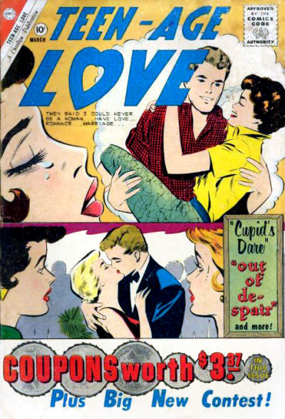 Cover for Teen-Age Love (Charlton, 1958 series) #19