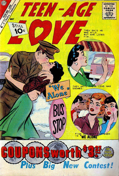 Cover for Teen-Age Love (Charlton, 1958 series) #20