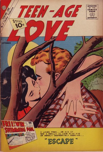 Cover for Teen-Age Love (Charlton, 1958 series) #22
