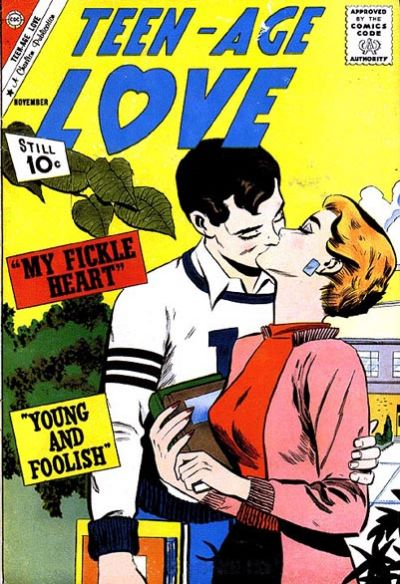 Cover for Teen-Age Love (Charlton, 1958 series) #23