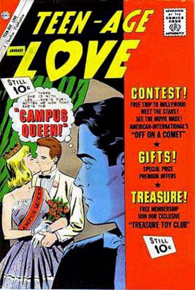 Cover for Teen-Age Love (Charlton, 1958 series) #24